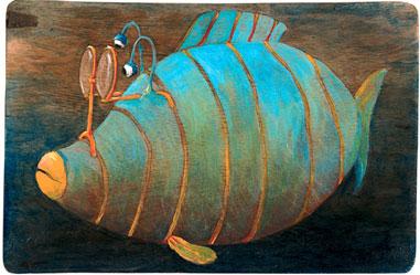Brillenfisch