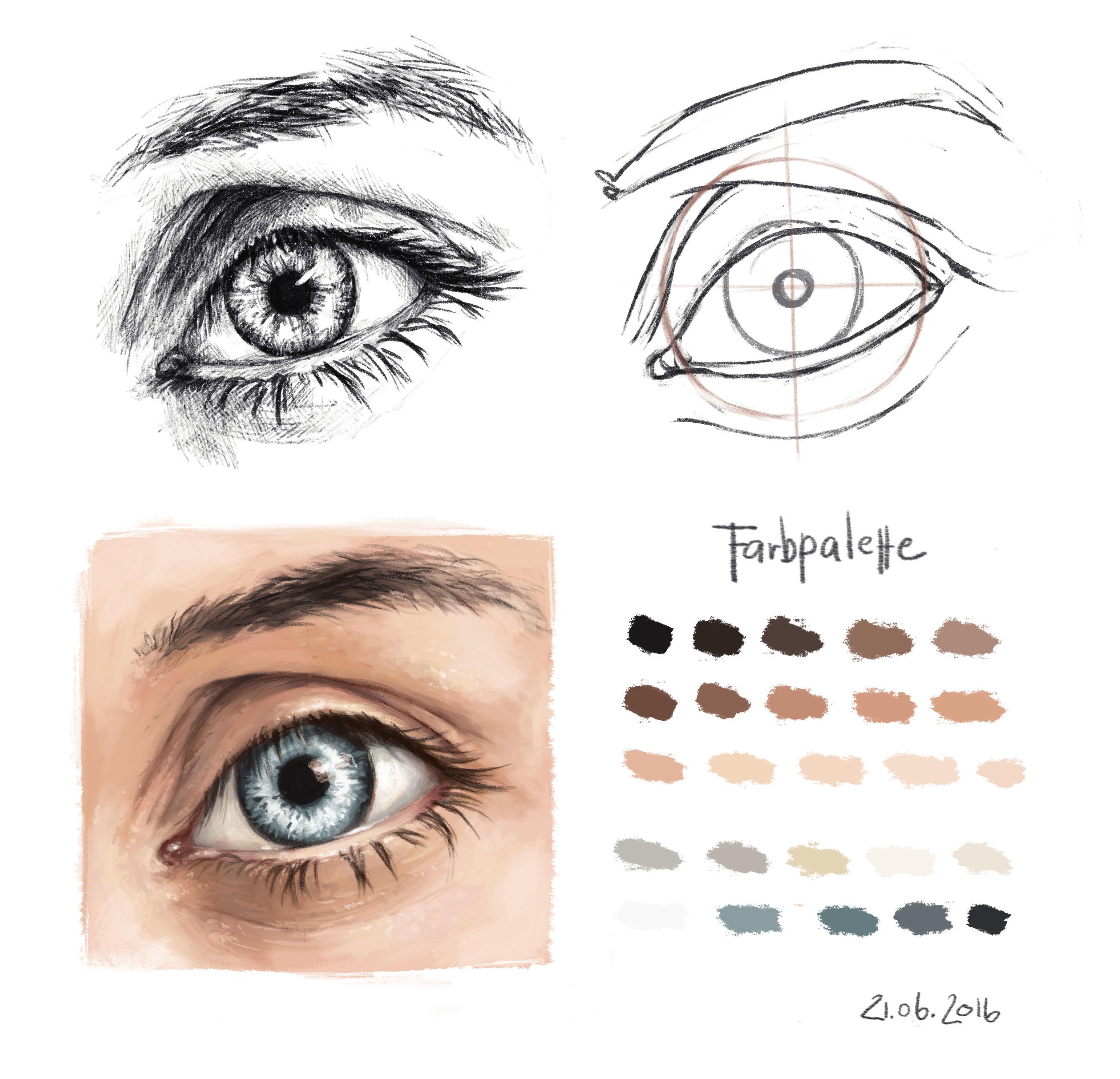 Augen_Studie